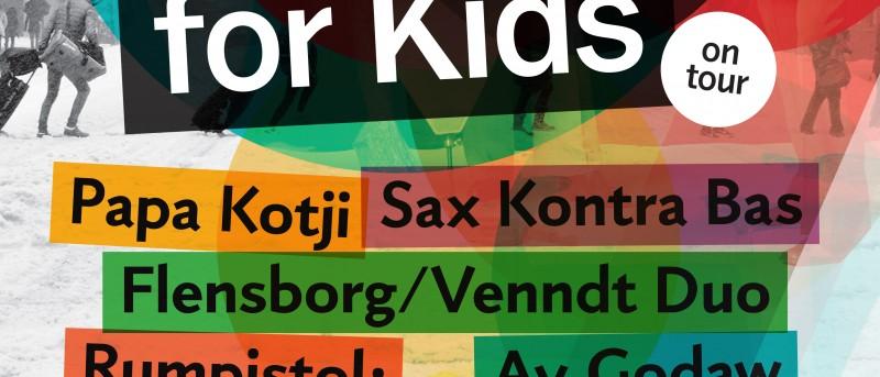 Vinterjazz præsenterer Jazz for Kids on Tour i februar