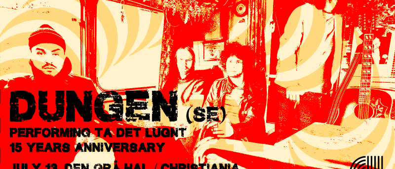 Swedish Dungen celebrate the 15th anniversary for