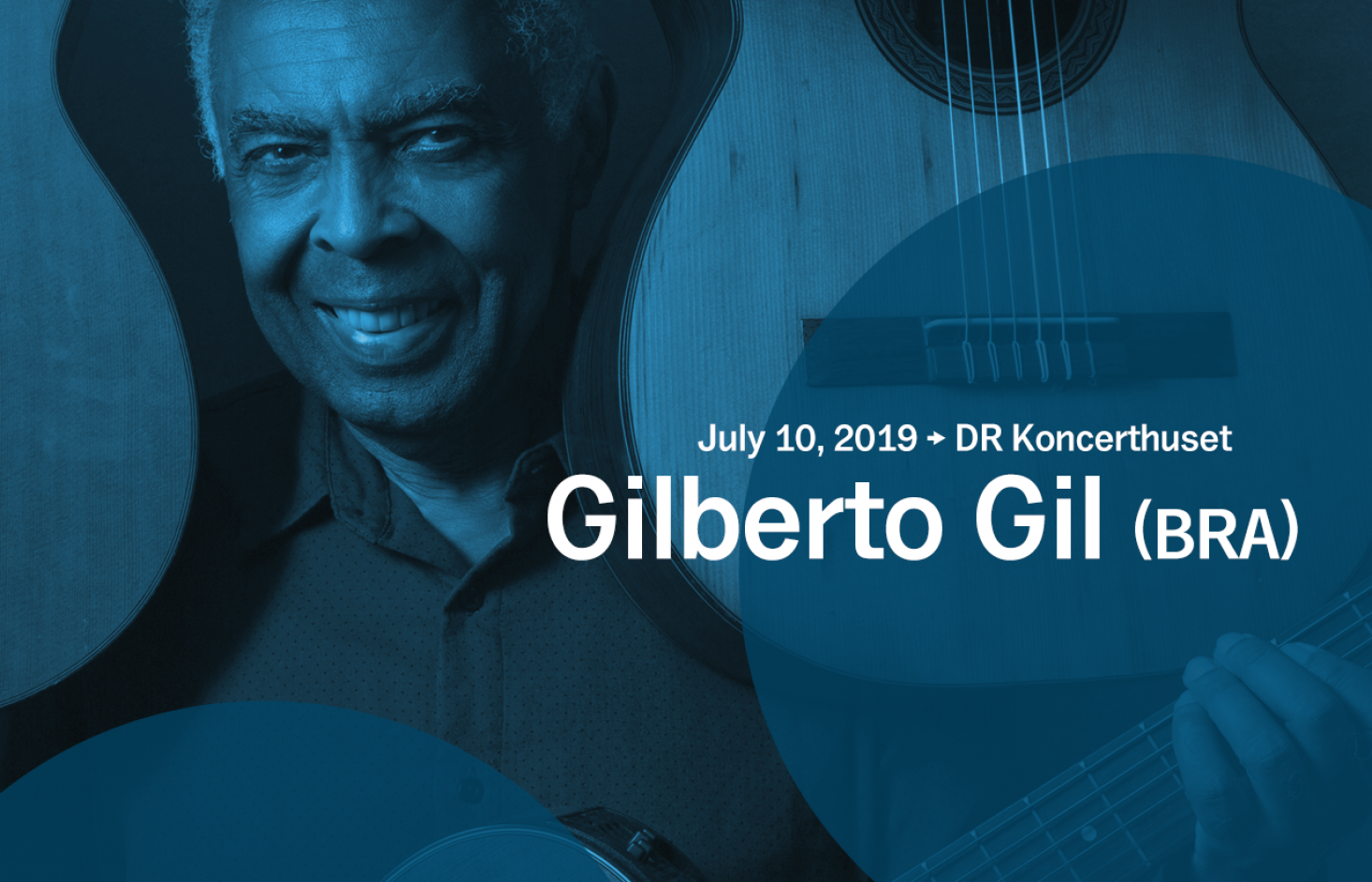 Gilberto Gil joins Copenhagen Jazz Festival with special guest Roberta Sá – tickets from Monday March 25