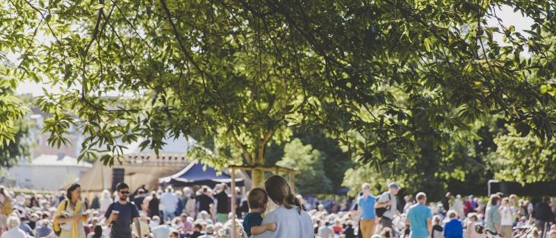 Open Air: Masser af gratis jazz på torvene og i haverne