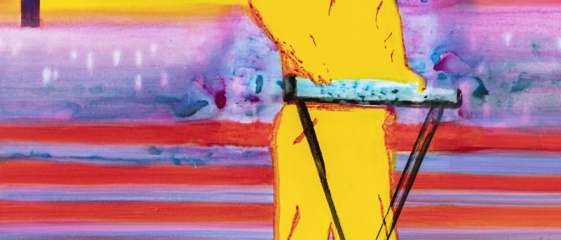 John Kørner is the artist behind this year's art poster for Copenhagen Jazz Festival