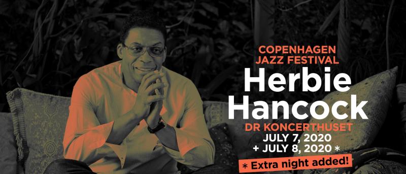 Herbie Hancock spiller to koncerter på Copenhagen Jazz Festival 2020