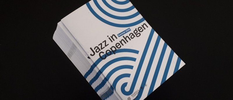 Programfolderen for Jazz in Copenhagen – Summer 2020 er på gaden 1. juli